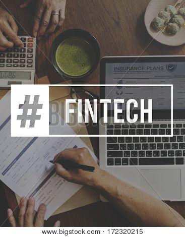 Start Up Business Venture Goals Fintech