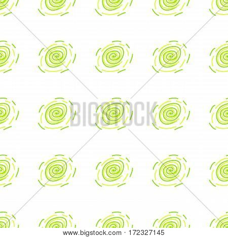 White green and yellow geometric seamless pattern. Abstract repeating background. Vector