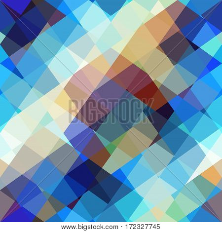 Seamless background. Geometric abstract diagonal pattern in a lowpoly style.