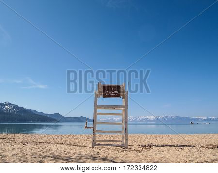 Lifeguard Chair Stand