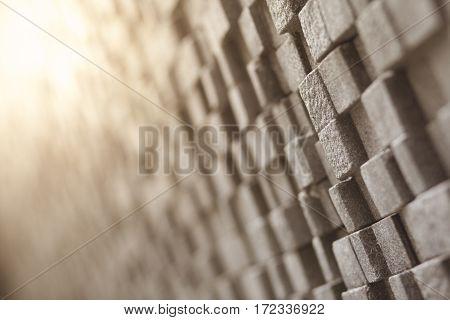 Cube Shape On Wall