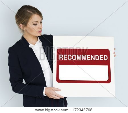 Recommend Comment Guarantee Refer Suggestion