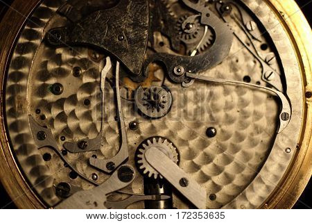 texture of the old clock, a lot of old clock