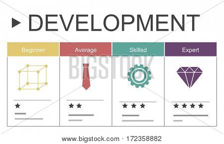 Development Performance Self-Improvement Ratings Icon