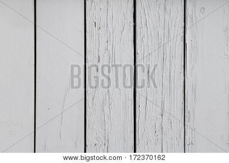 a white wooden background with cracked paint