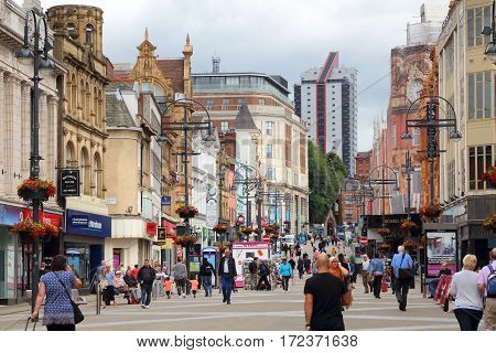 Briggate Street, Leeds