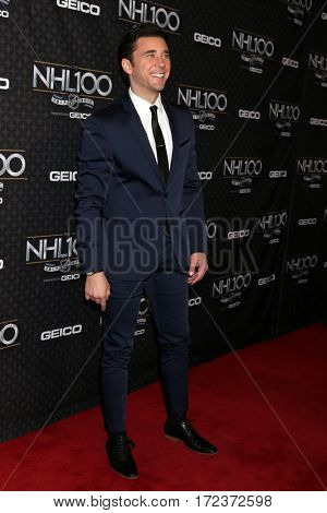 LOS ANGELES - JAN 27:  Billy Flynn at The NHL100 Gala at Microsoft Theater on January 27, 2017 in Los Angeles, CA