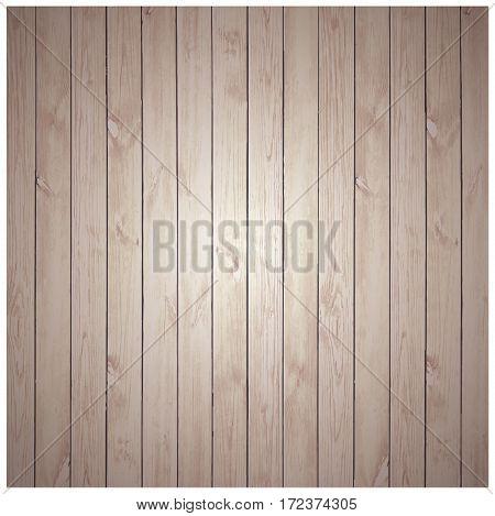 Wood Texture Background. Rustic wood planks vintage background. Vector illustration.