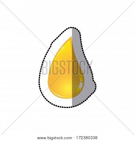 drop oil icon stock, vector illustration design