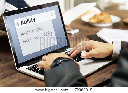 Education Skills Recruitment Word Search