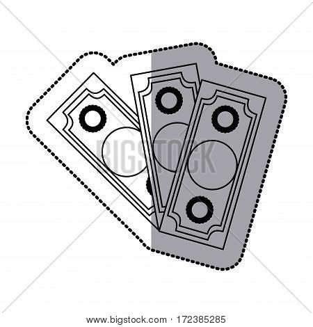 bills icon stock image, vector illustration design