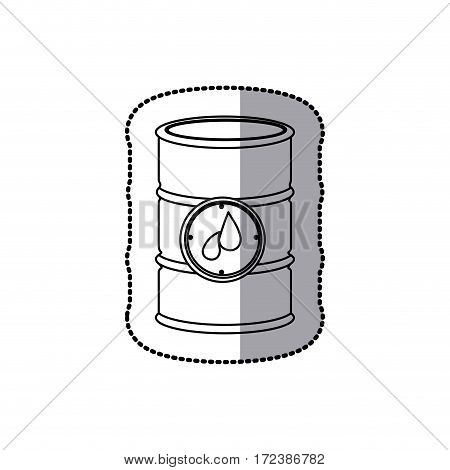 gasoline tank icon stock image, vector illustration design