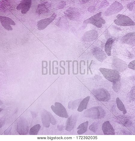 Abstract Grunge Decorative purple Background. Rough Stylized Texture Or Square Background With Copy Space