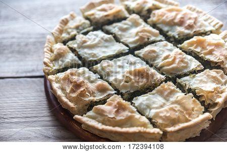 Spanakopita - Greek Spinach Pie