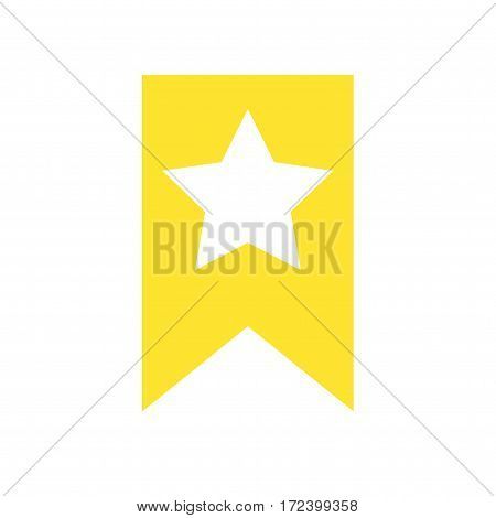 Bookmark icon. Isolated vector on white background.