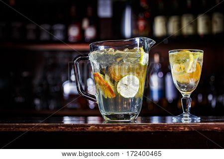 Lemonade Coctail Drink