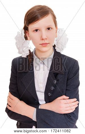 Upset School Student