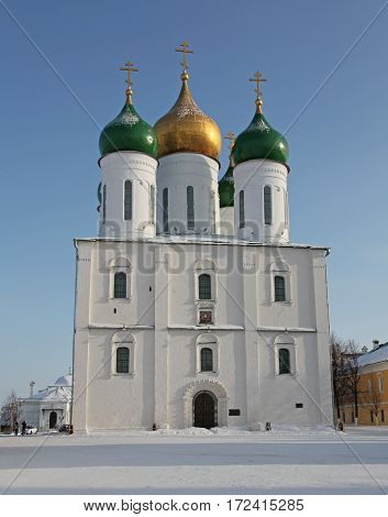 Russia. Kolomna kremlin and historical center. The Cathedral of the Asccension