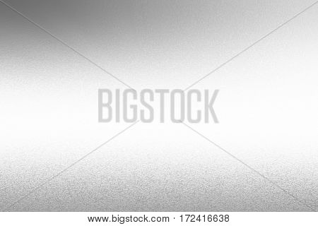 Silver brushed metal background