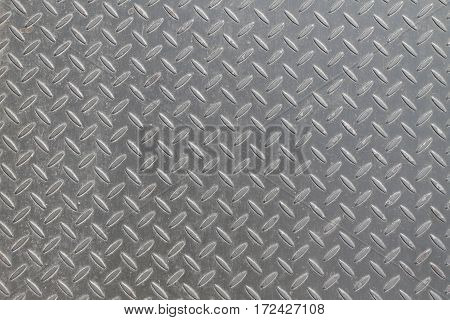 a metal background or texture with tread plate pattern