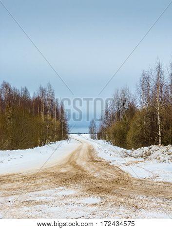 Crossroads Forest Roads.