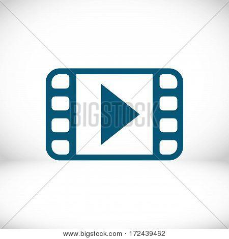 video icon stock vector illustration flat design