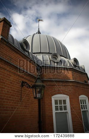 the observatory of greenwich in london in england