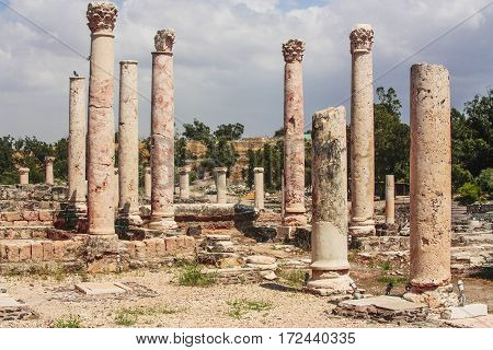 beit shaan antique rome empire old city