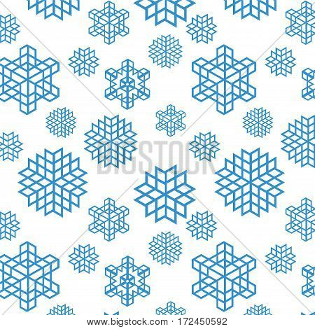 Christmas seamless pastel retro vector patterns tiling. Endless texture can be used for printing onto fabric and paper or scrap booking surface textile web page background. New Year abstract shapes.