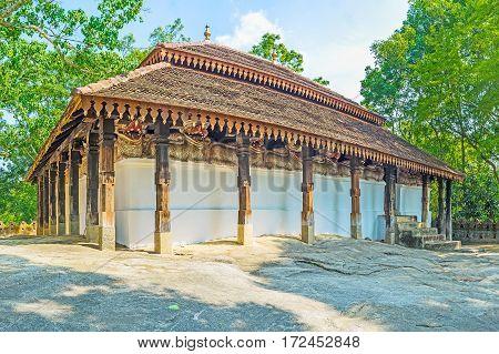 The Medieval Padeniya Temple
