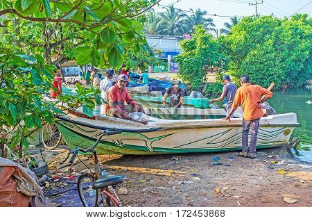 The Fishermen At Work