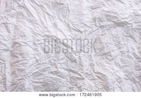 background White crumpled paper background crumpled white paper