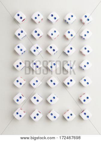 Blank Two Cross Pattern