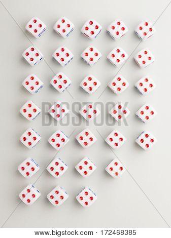 Cut Four Cross Pattern