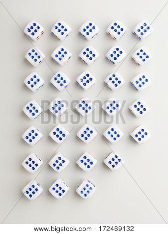 Cut Six Cross Pattern