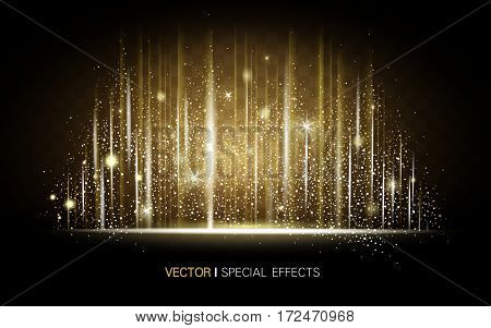 Metallic Luster Background