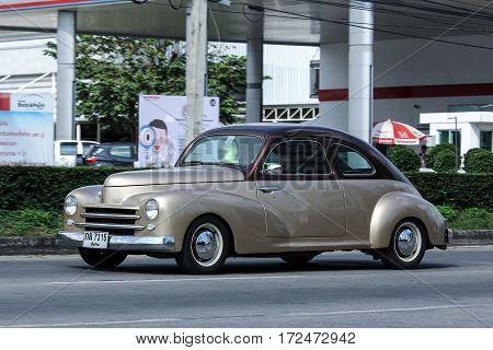 Private Old Car. Ford Fordor Sedan