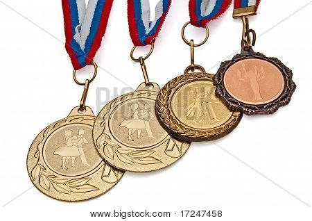Four Medals For Dancing