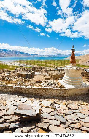 Ladakh Tso Moriri Lake Korzok Village Monastery V
