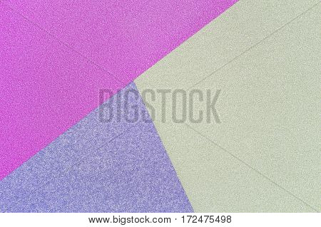 Blue, Green And Purple Pastel Background. Top View.