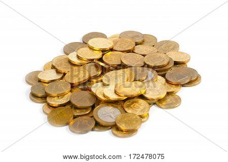 Russian metal golden coins as part of the trade and the country's banking system