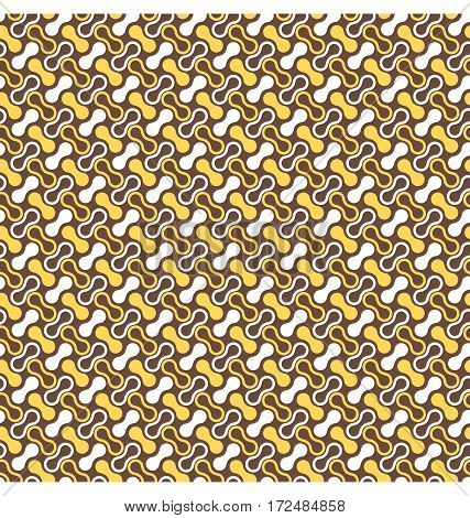 Seamless multicolor yellow brown contrast abstract pattern