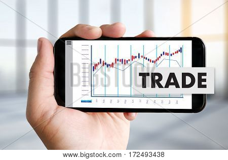 Stock Market Results Stock Trade Report Forex Shares Business People Standard