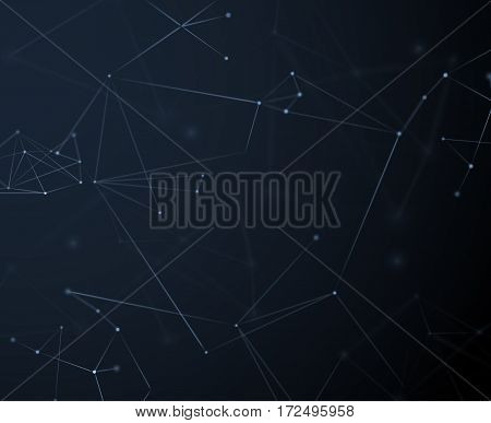 Plexus technology connections background. Vector eps10. Can be used as communications or technology, internet, science concepts.