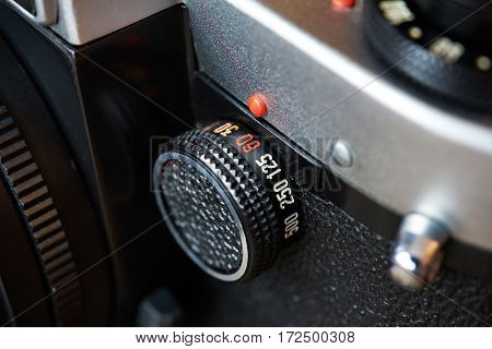 Control Dial Shutter Speed On Slr Camera