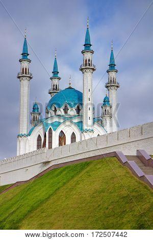Kul-Sharif mosque in Kazan Kremlin in Tatarstan Russia