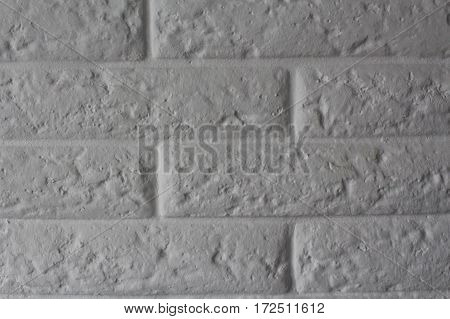 brick wall background/ old gray bricks/ background for interior or exterior