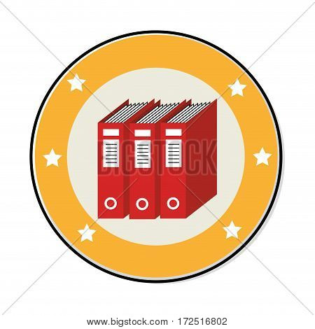 text books library icon vector illustration design