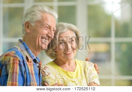 Portrait of a happy senior couple spending time together