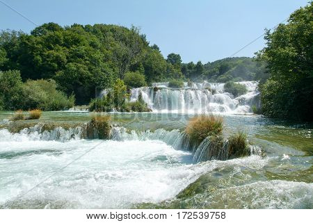 Waterfalls Of The Krka National Park